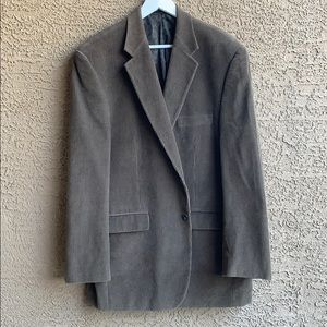 Polo Ralph Lauren brown corderouy blazer 44L
